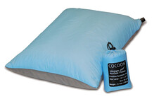 Cocoon Air-Core Pillow large ultralight light blue/grey